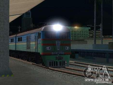 VL8m-750 pour GTA San Andreas vue arrière