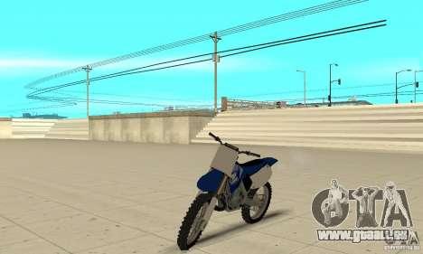 Yamaha YZ250 pour GTA San Andreas