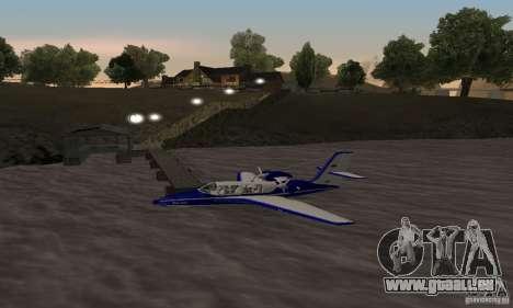 Beriev être-103 pour GTA San Andreas laissé vue