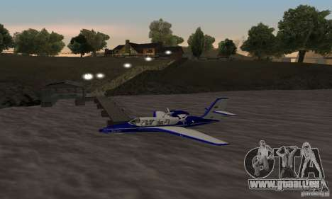 Berijew be-103 für GTA San Andreas linke Ansicht