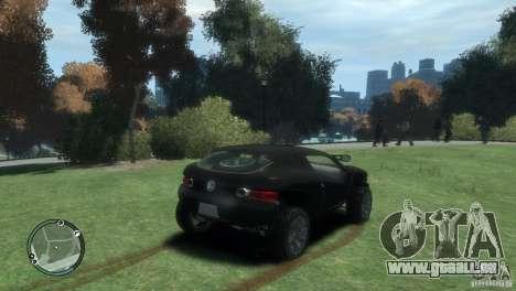 Volkswagen Concept pour GTA 4 Vue arrière de la gauche