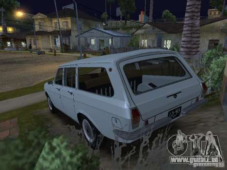 GAZ 24-02 für GTA San Andreas linke Ansicht