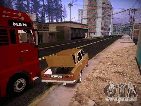 VAZ 21011 pour GTA San Andreas vue arrière