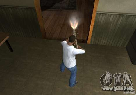 KAC PDW für GTA San Andreas fünften Screenshot
