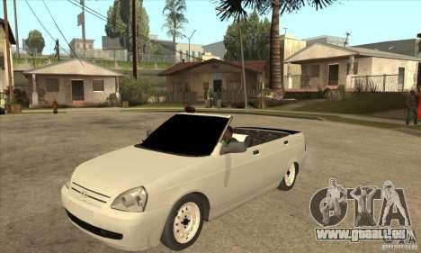VAZ LADA Priora convertible pour GTA San Andreas