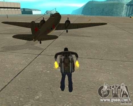 Li-2 pour GTA San Andreas sur la vue arrière gauche