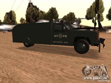 GMC SIERRA 3500 pour GTA San Andreas vue de droite