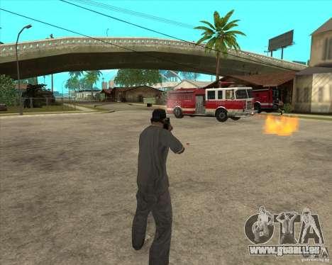 Gta IV weapon anims pour GTA San Andreas cinquième écran