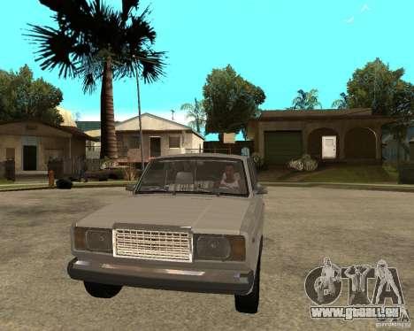 VAZ 21047 für GTA San Andreas Rückansicht