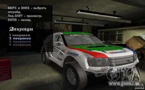 Bowler Nemesis pour GTA San Andreas vue arrière