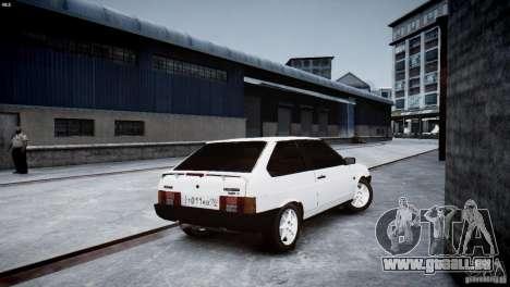 VAZ 21083i für GTA 4 Rückansicht
