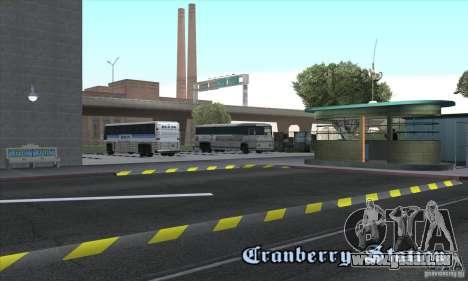 BUSmod pour GTA San Andreas quatrième écran