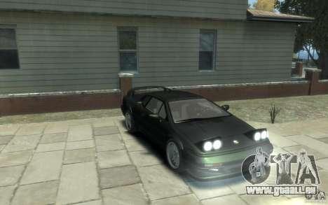 Lotus Esprit V8 für GTA 4 Rückansicht