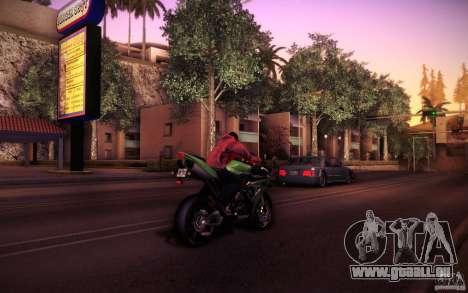 Yamaha YZF R1 pour GTA San Andreas vue arrière