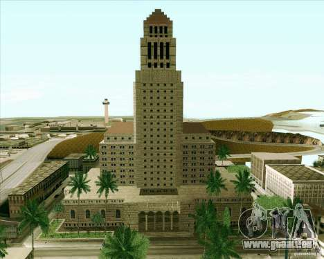 Los Santos City Hall für GTA San Andreas