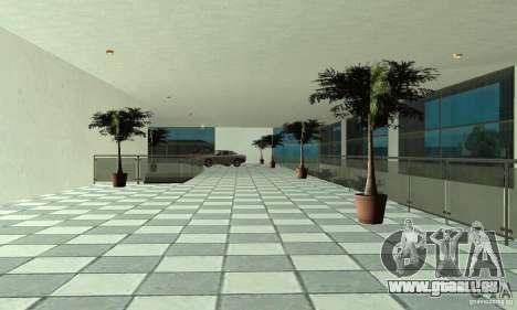 Mercedes Showroom v.1.0 (BFMTV) pour GTA San Andreas cinquième écran
