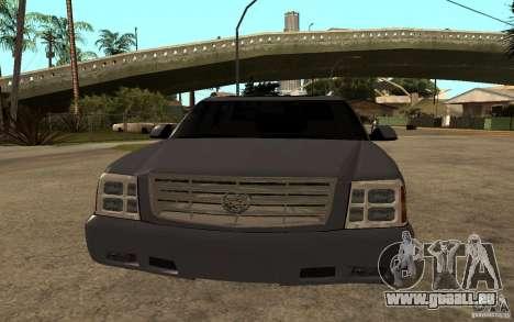 Cadillac Escalade pick up pour GTA San Andreas