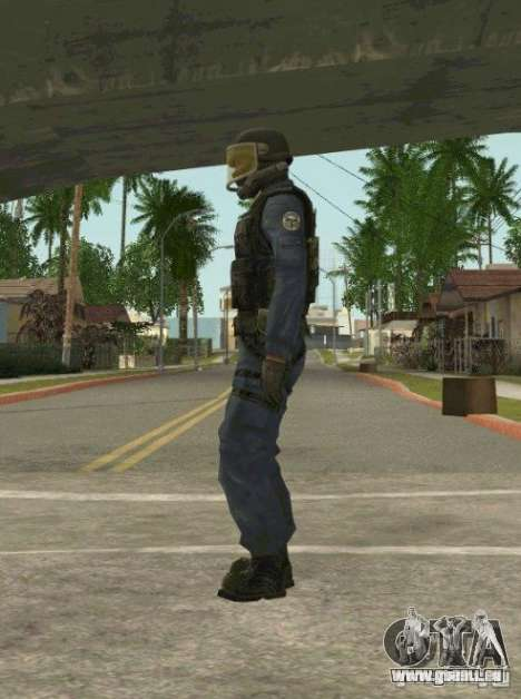 Counter-terrorist für GTA San Andreas zweiten Screenshot