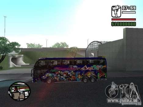 Neoplan pour GTA San Andreas sur la vue arrière gauche