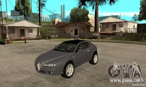 Alfa Romeo Brera du CNSA pour GTA San Andreas