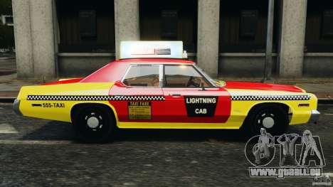 Dodge Monaco 1974 Taxi v1.0 pour GTA 4 est une gauche