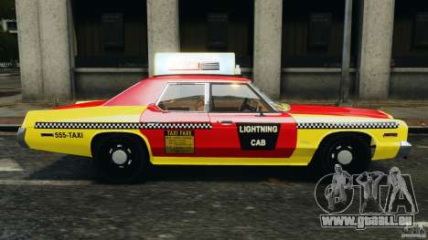 Dodge Monaco 1974 Taxi v1.0 für GTA 4 linke Ansicht