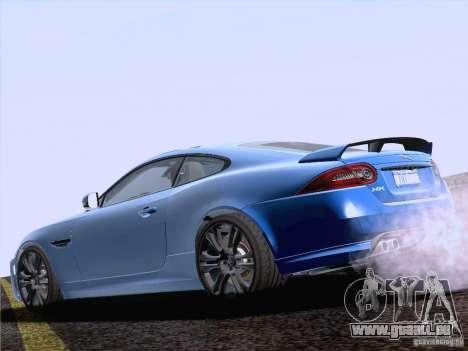 Jaguar XKR-S 2011 V2.0 pour GTA San Andreas laissé vue