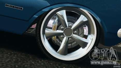 Chevrolet Opala Gran Luxo pour GTA 4 est une vue de dessous