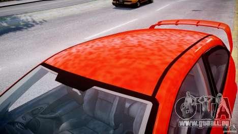 Ford Focus SVT WRC Street pour GTA 4 est une vue de dessous