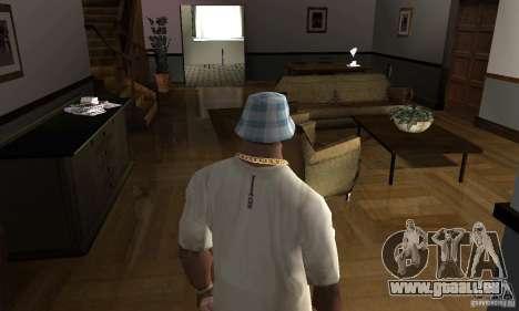 Maisons neuves à coffre intérieurs pour GTA San Andreas deuxième écran