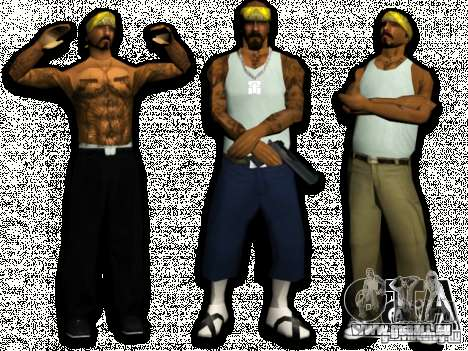 Skins Bands HQ für GTA San Andreas