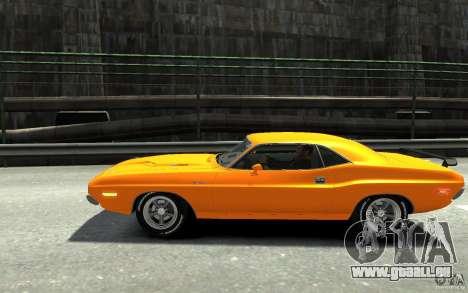 Dodge Challenger R/T Hemi 1970 für GTA 4 linke Ansicht