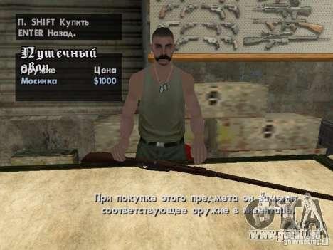 Pak-Inland-Waffen für GTA San Andreas elften Screenshot