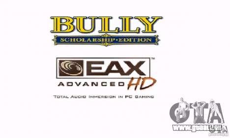 Botte clipart Bully Scholarship Edition pour GTA San Andreas quatrième écran
