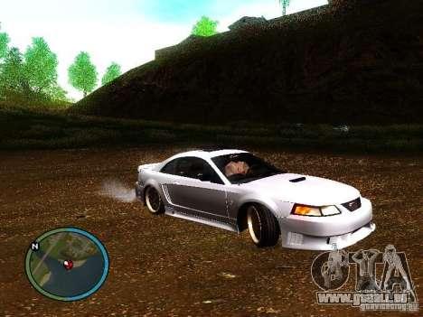 Saleen S281 für GTA San Andreas rechten Ansicht