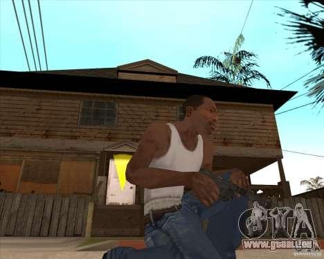 CoD:MW2 weapon pack pour GTA San Andreas douzième écran