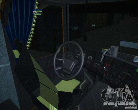 Scania 164L pour GTA San Andreas vue de droite