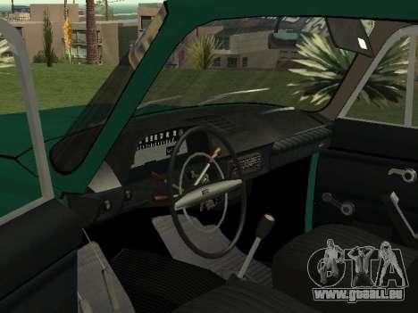IZH 27151 PickUp pour GTA San Andreas vue arrière