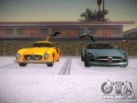 Mercedes-Benz 300SL pour GTA San Andreas vue de côté