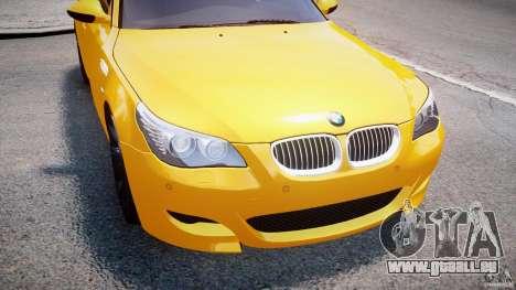 BMW M5 E60 2009 pour le moteur de GTA 4