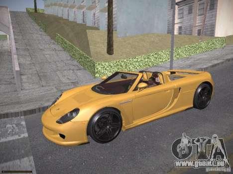 Porsche Carrera GT pour GTA San Andreas laissé vue