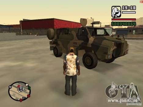 Australian Bushmaster für GTA San Andreas