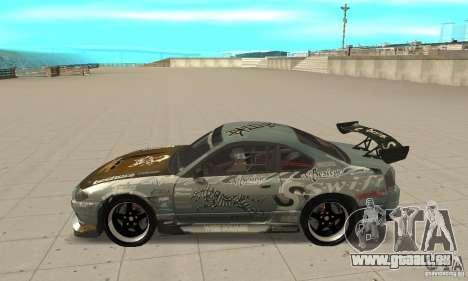 Nissan Silvia S15 [F&F3] für GTA San Andreas linke Ansicht