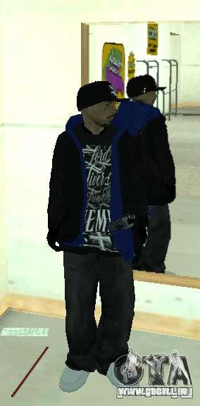 Vagos Gang Skins pour GTA San Andreas neuvième écran