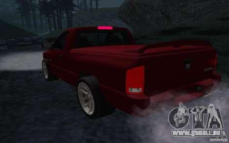 Dodge Ram SRT-10 für GTA San Andreas rechten Ansicht