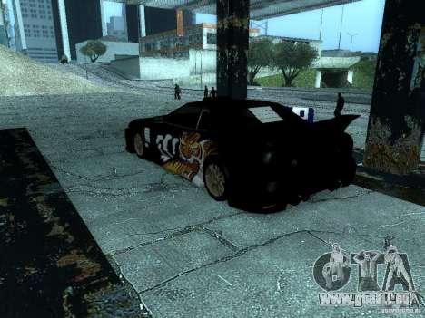 Vinyle big Lou de Most Wanted pour GTA San Andreas vue de droite
