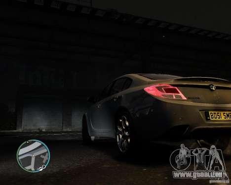 Vauxhall Insignia v1.0 pour GTA 4 est une gauche