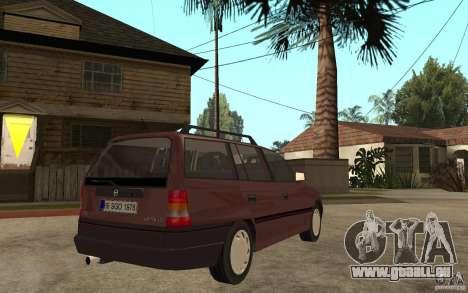 Opel Astra SW 1.6 1994 pour GTA San Andreas vue de droite