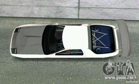 Mazda Savanna RX-7 FC3S pour une vue GTA Vice City de la droite