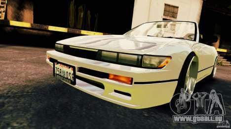 Nissan Silvia S13 Cabrio pour GTA 4 est un droit
